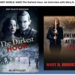 Interviewed on Kathryn Gauci's Site About Upcoming The Darkest Hour Anthology
