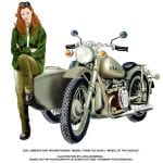 New Illustration by Lucia Nobrega: Zoe and Her Motorcycle Mabel