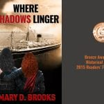 Redesigned Book Cover: Where Shadows Linger